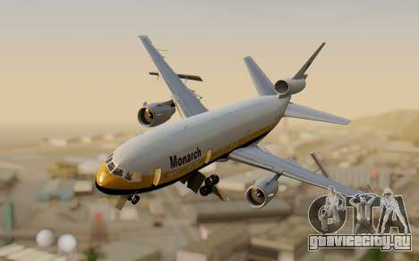 DC-10-30 Monarch Airlines для GTA San Andreas