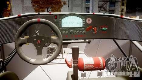 Radical SR8 RX 2011 [8] для GTA 4 вид изнутри