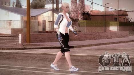 Endurance Cassie Cage from Mortal Kombat X для GTA San Andreas