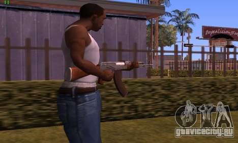 AK-47 from Battlefield Hardline для GTA San Andreas второй скриншот