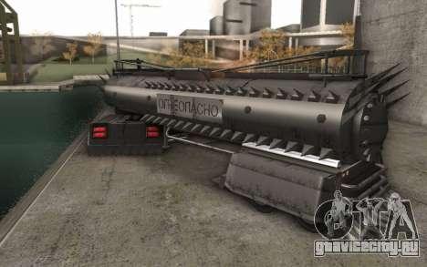 Грузовик Mad Max для GTA San Andreas вид сзади слева