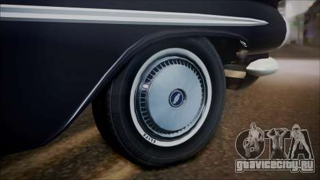 Chevrolet Impala 1959 для GTA San Andreas вид справа