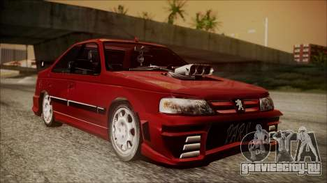 Peugeot Pars The Best Full Sport v1 для GTA San Andreas