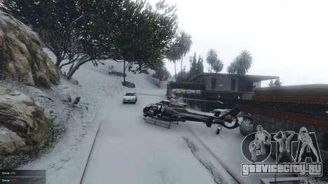 Singleplayer Snow 2.1 для GTA 5 второй скриншот