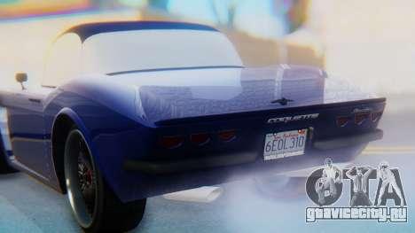 Invetero Coquette BlackFin v2 GTA 5 Plate для GTA San Andreas двигатель