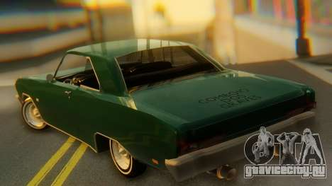 Dodge Dart Coupe для GTA San Andreas вид слева