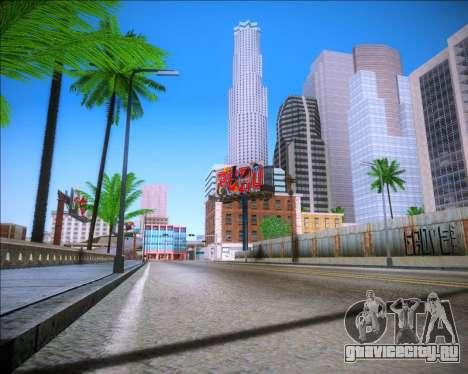 Sparkle ENB для GTA San Andreas третий скриншот