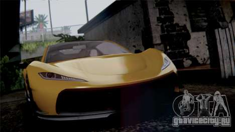 GTA 5 Progen T20 IVF для GTA San Andreas