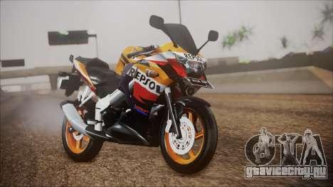 Honda CBR150R Repsol CBU для GTA San Andreas