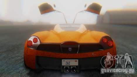 GTA 5 Pegassi Osiris SA Style для GTA San Andreas вид изнутри