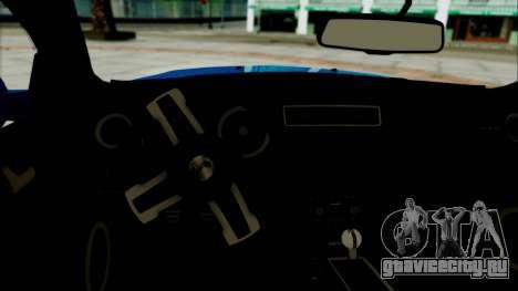 Ford Mustang GT Modification для GTA San Andreas вид сзади слева