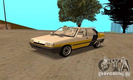 Renault 9 TSE 1992 для GTA San Andreas салон
