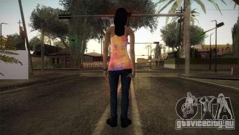 Alara Model Girl для GTA San Andreas третий скриншот