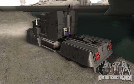 Грузовик Mad Max для GTA San Andreas вид слева