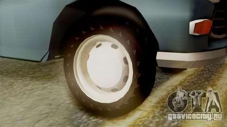 Peugeot 404 для GTA San Andreas вид сзади слева
