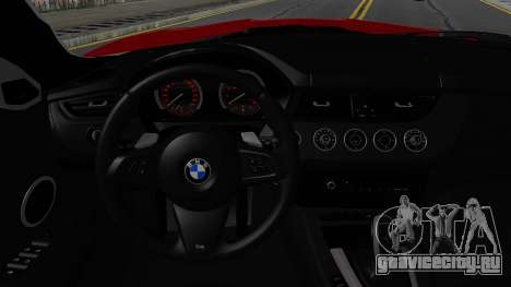 BMW Z4 sDrive35is 2011 2 Extras для GTA San Andreas вид изнутри