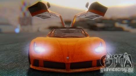 GTA 5 Pegassi Osiris SA Style для GTA San Andreas вид сзади