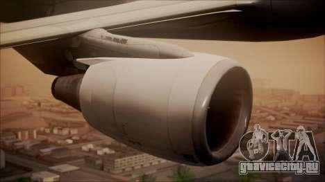 Airbus A320 TAROM Romania для GTA San Andreas вид справа