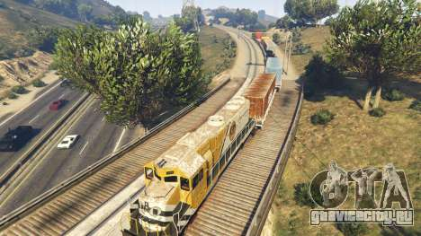 Railroad Engineer 3 для GTA 5 шестой скриншот