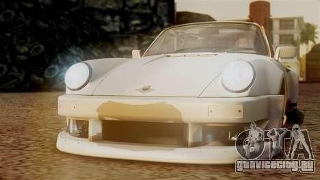 Porsche 911 Turbo (930) 1985 Kit C PJ для GTA San Andreas
