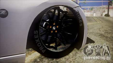 Nissan 370Z SPPC для GTA San Andreas вид сзади слева