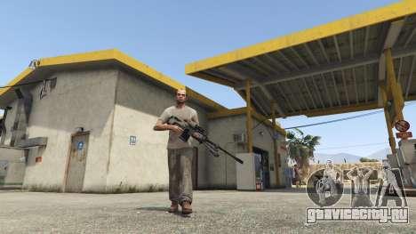 Halo UNSC: Sniper Rifle для GTA 5 третий скриншот