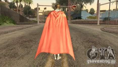 Superman Cyborg v2 для GTA San Andreas третий скриншот