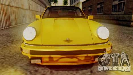 Porsche 911 Turbo (930) 1985 Kit C PJ для GTA San Andreas вид изнутри