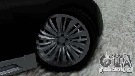 Truffade Adder Hyper Sport для GTA San Andreas вид сзади слева