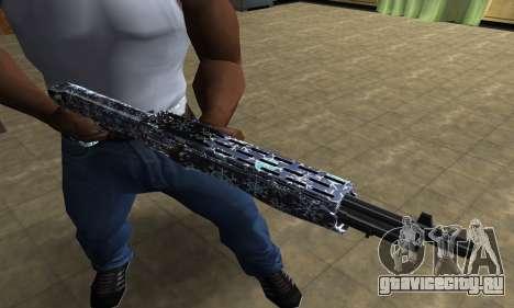 Snowflake Combat Shotgun для GTA San Andreas третий скриншот
