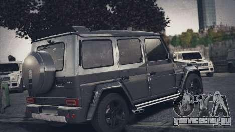 Mercedes-Benz G65 W463 для GTA 4 вид слева