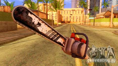 Atmosphere Chainsaw для GTA San Andreas