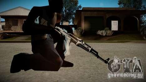 AK-47 Vulcan для GTA San Andreas третий скриншот