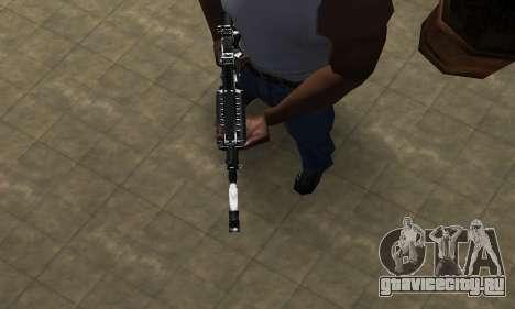 Original M4 для GTA San Andreas второй скриншот