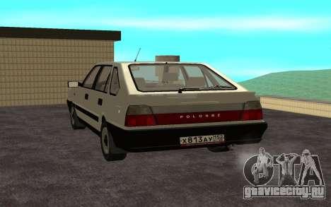 Daewoo FSO Polonez Caro Plus для GTA San Andreas вид слева