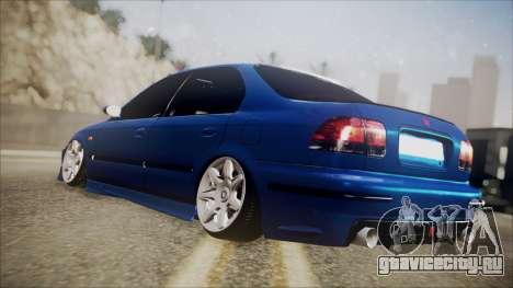 Honda Civic B.O. Yapım для GTA San Andreas вид слева