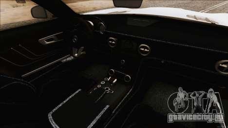 Mercedes-Benz SLS AMG 2013 для GTA San Andreas вид сверху