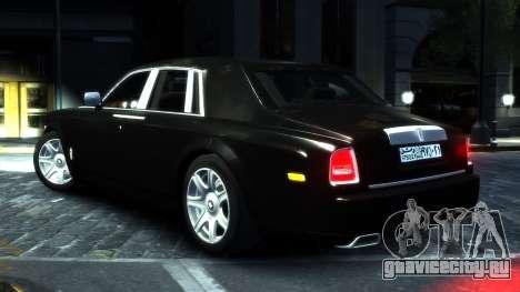 Rolls-Royce Phantom 2013 v1.0 для GTA 4 вид справа