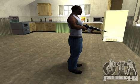 Full Black Rifle для GTA San Andreas третий скриншот