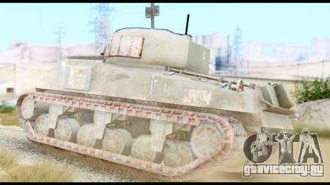 M4 Sherman 75mm Gun Urban для GTA San Andreas вид слева