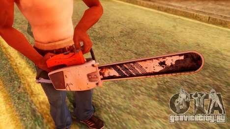 Atmosphere Chainsaw для GTA San Andreas третий скриншот