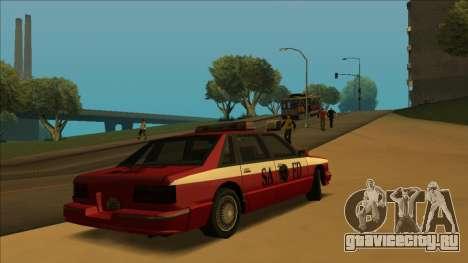 FDSA Premier Cruiser для GTA San Andreas вид изнутри