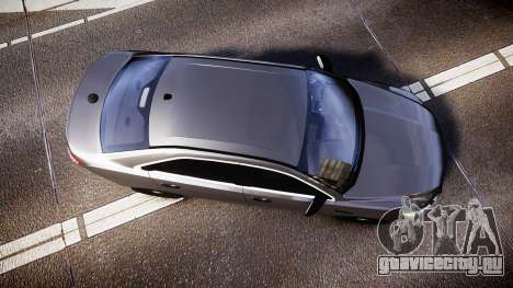 Ford Taurus 2010 Unmarked Police [ELS] для GTA 4 вид справа