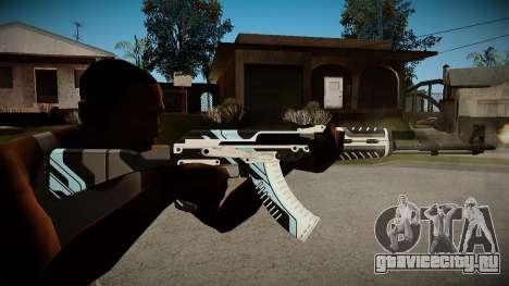 AK-47 Vulcan для GTA San Andreas второй скриншот