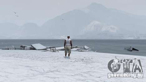 Singleplayer Snow 2.1 для GTA 5