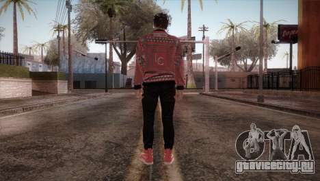 Skin3 from DLC Gotten Gaings для GTA San Andreas третий скриншот