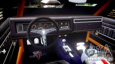 GTA V Imponte Duke O Death [HD Interior] для GTA 4 вид сзади