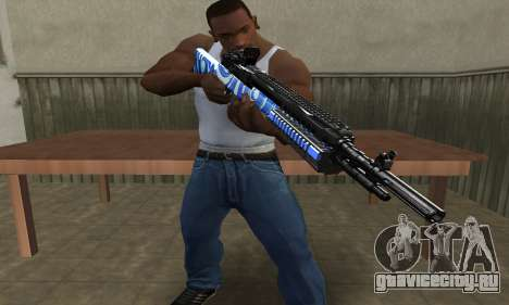JokerMan Rifle для GTA San Andreas второй скриншот