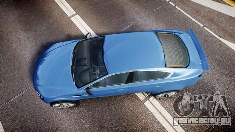 GTA V Ocelot Jackal new york plates для GTA 4 вид справа