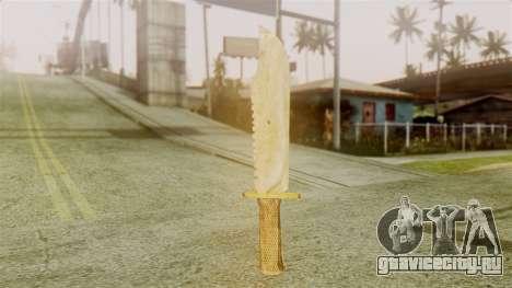Red Dead Redemption Knife Legendary Assasin для GTA San Andreas второй скриншот